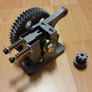 3D Printer Geared Extruder