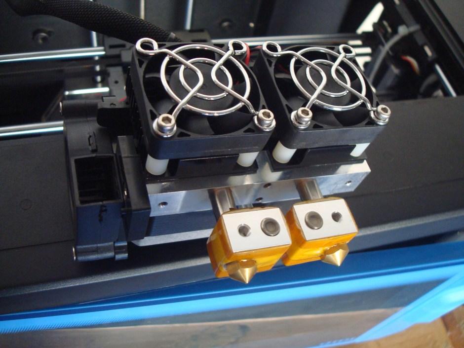 3d printer dual extruder