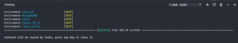 marlin 2.0 compile success