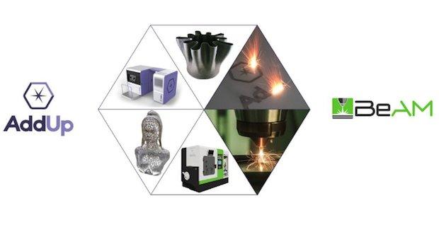 AddUp accroît ses compétences en FA métallique avec l'acquisition de BeAM   3D ADEPT MEDIA