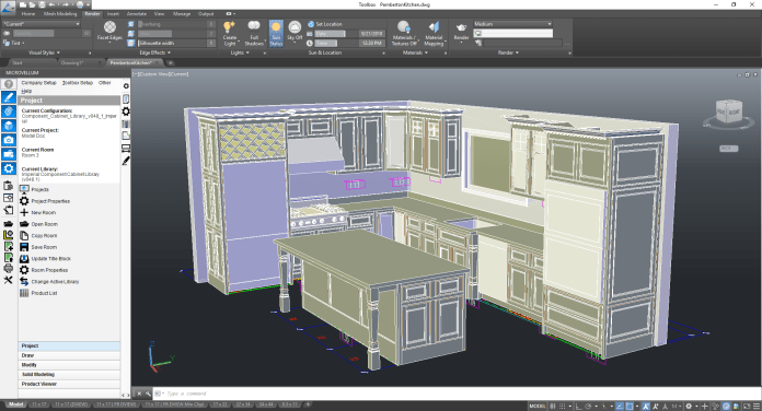 Microvellum Relies On Tech Soft 3d And Autocad Oem To Provide Solutions For Intelligent Cabinet Design 3d Adept Media