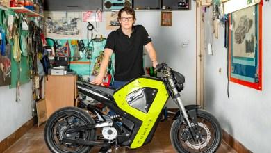 Polish designer creates an electric motorbike using 3D printing
