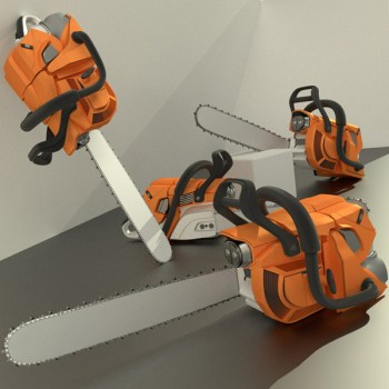 Chainsaw High-Poly