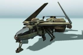 Futuristic combat Animated on studio verold