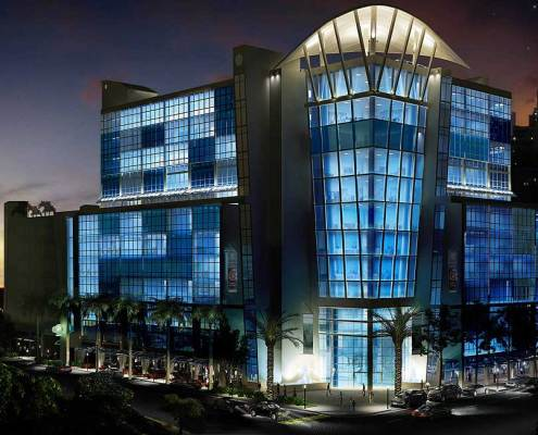 Seagate Properties (SGP) 3D Night Rendering in Fort Lauderdale, Florida