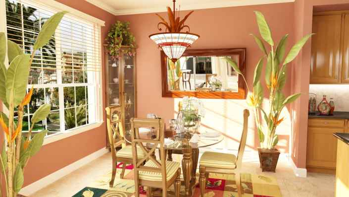 3D Dining Room - Savannah Preserve in Sarasota, Florida