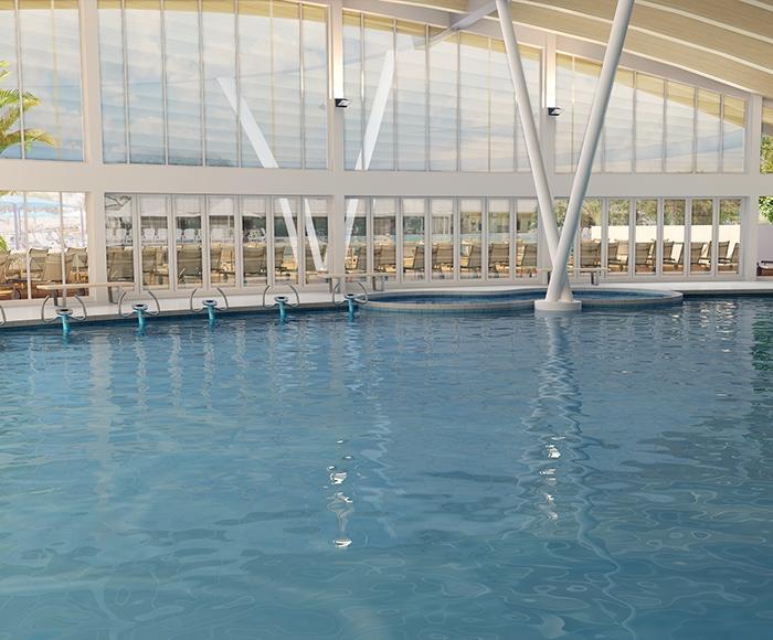 Sun N Fun RV Resort in Sarasota - Pool - 3D Rendering