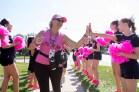 high five 2013 Chicago Susan G. Komen 3-Day breast cancer walk