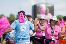 crew high five 2013 Michigan Susan G. Komen 3-Day breast cancer walk