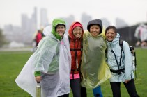 rain poncho 2013 Seattle Susan G. Komen 3-Day breast cancer walk