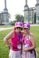 pink hat 2013 Philadelphia Susan G. Komen 3-Day breast cancer walk