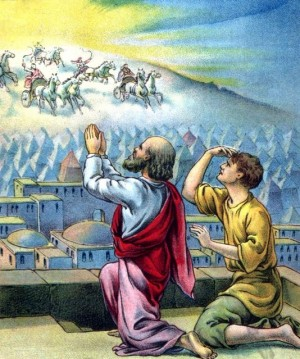 Elisha and servant - Open the eyes of my servant