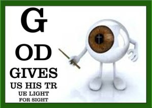 See what God Sees Eye chart