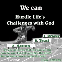 Hurdle Tithe Challenges Via Three Steps – Prayer-Trust-Action