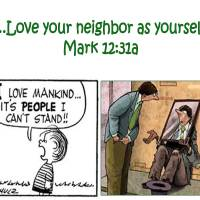 What is my Identity? Whose am I? – Love neighbor as yourself