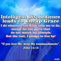 Intelligent Disobedience leads to Cheap Grace