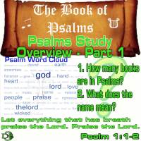 Psalms Study Overview – Part 1 – Why, What, Who