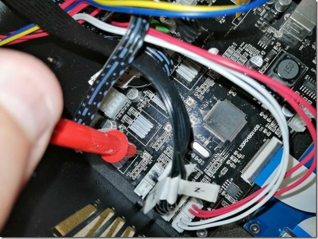 Réglage driver Alfawise u20 : fil rouge potentiomètre