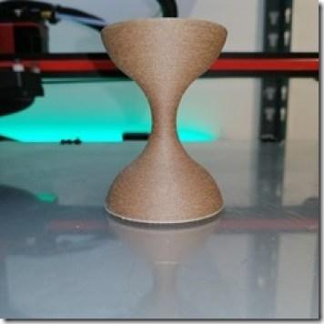 Teste de filament bois HC 0.1mm