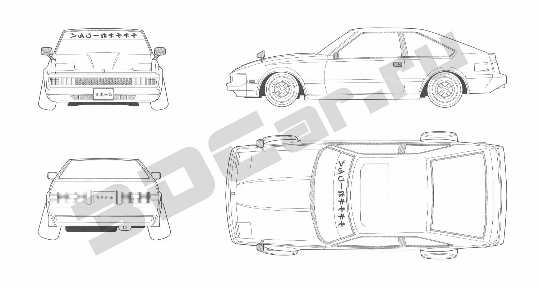 Toyota Celica Supra 3dcar
