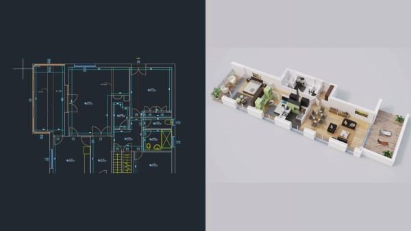 Plan 2D et 3D