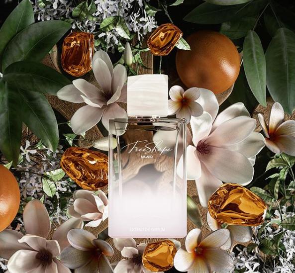 Free Shape Parfume campagna