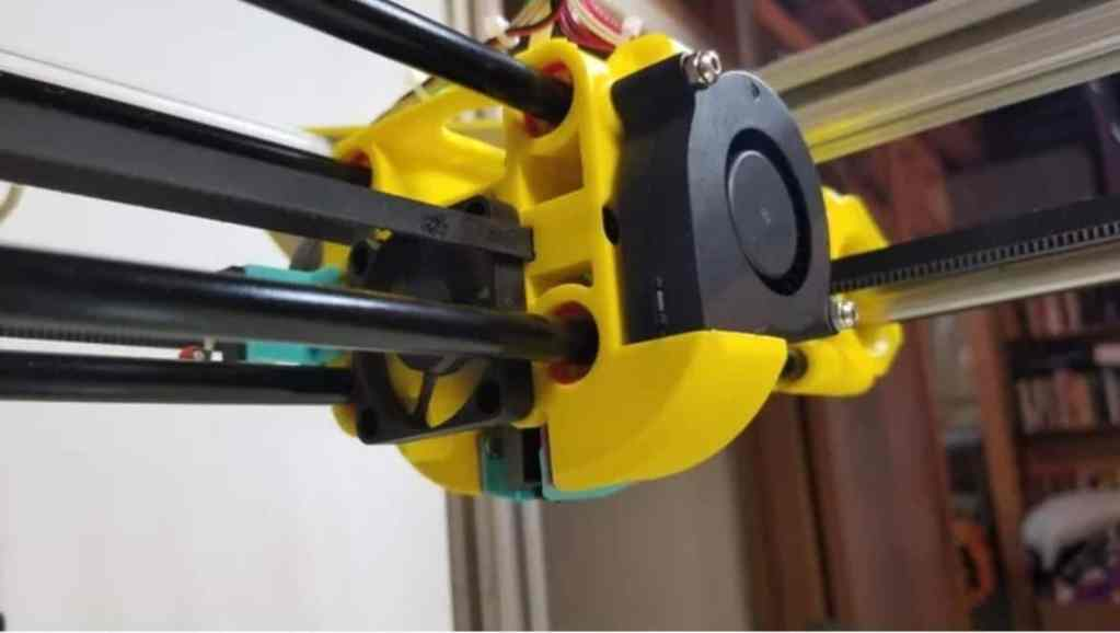 Quad Rod CoreXY 3d Printer
