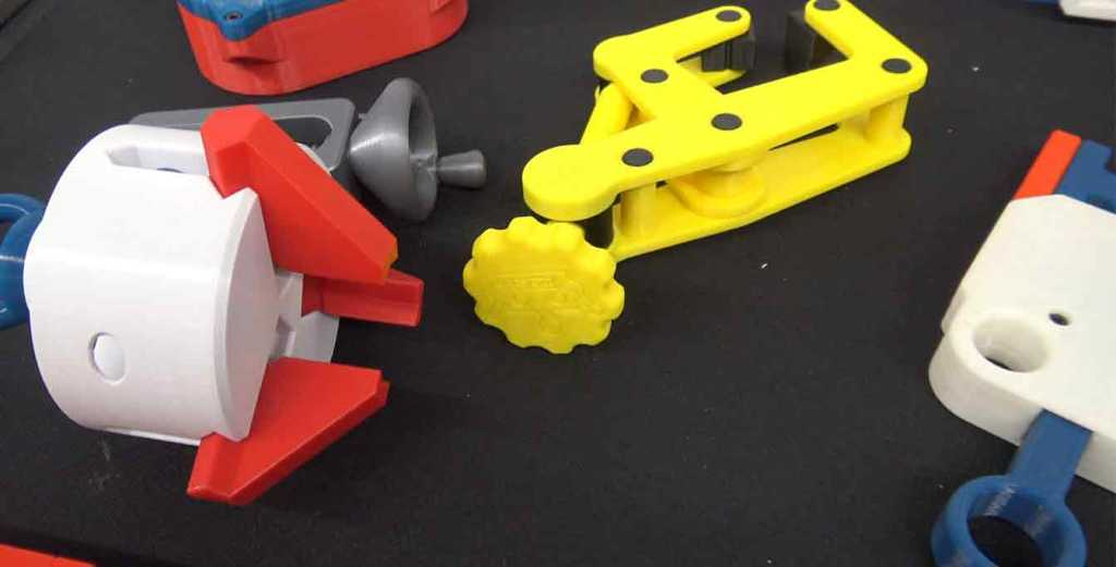 3D Printed Three Jaw Gripper