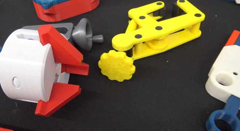 3D Printed Three Jaw Gripper
