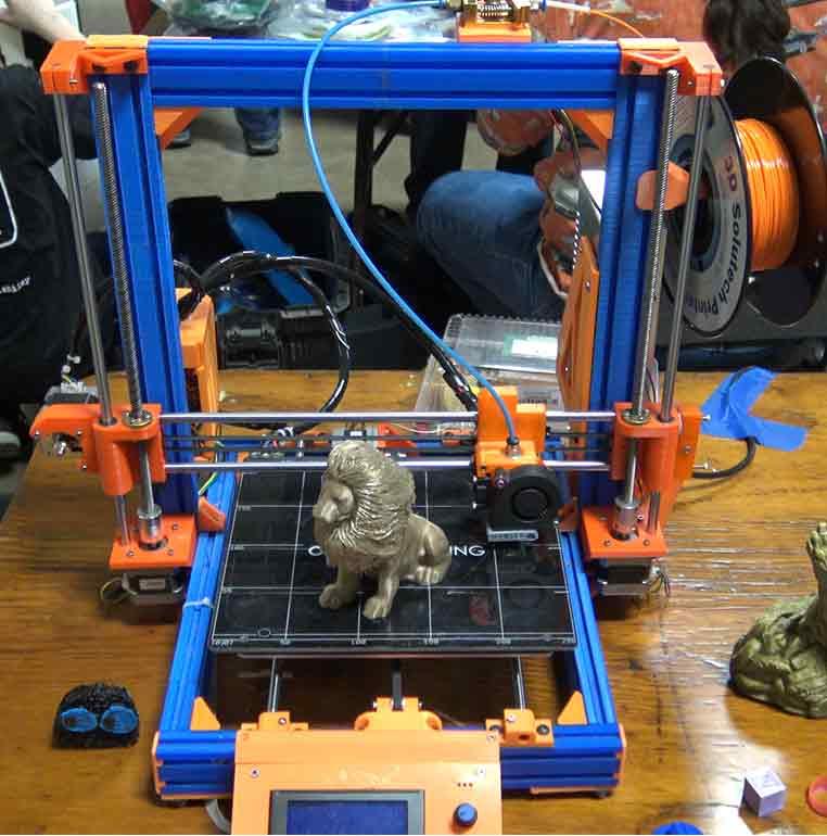 Kuntry3D's 3D Printed Prusa