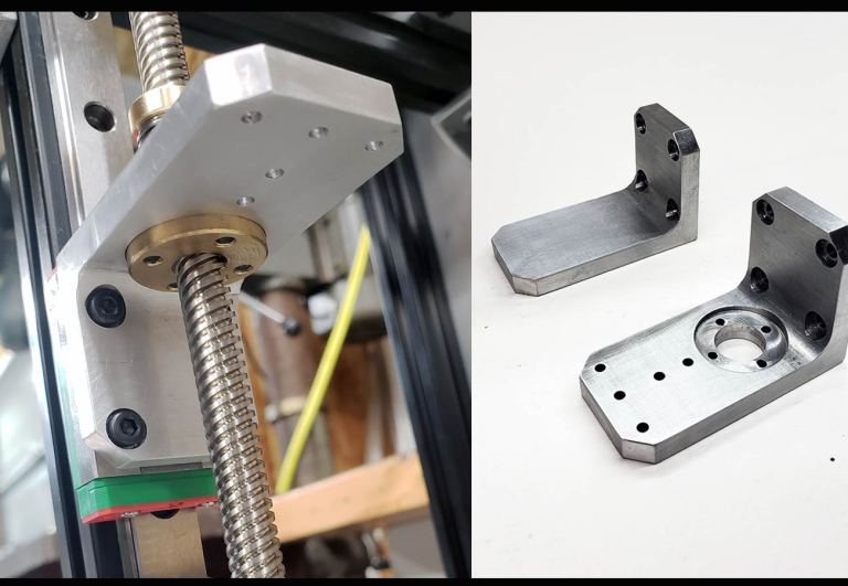 SolidCore CoreXY Z-Axis Bed Mount Brackets