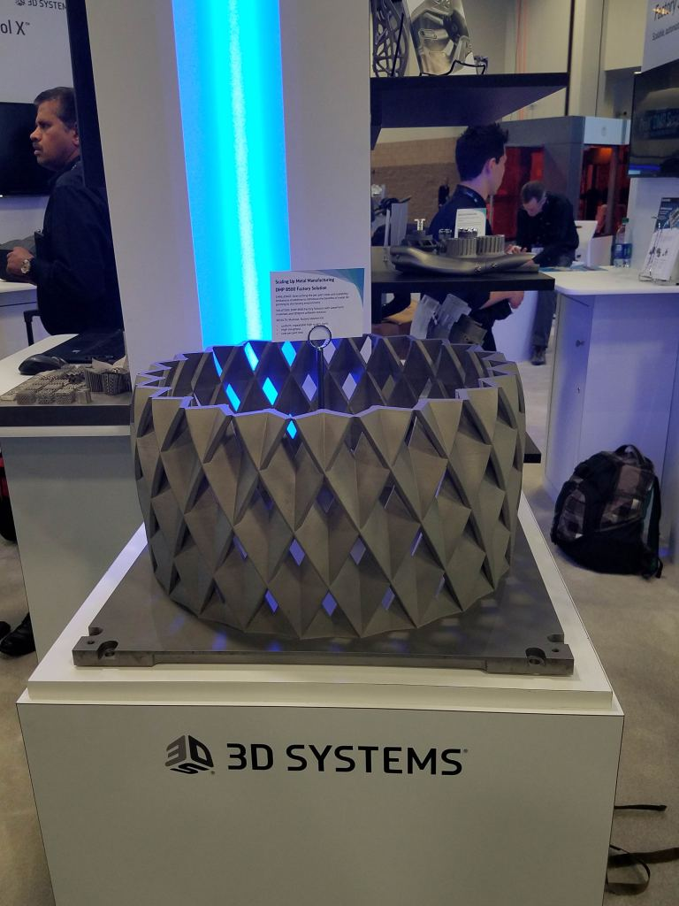 3D Systems at Rapid Event + TCT