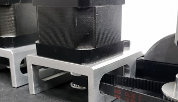Nema 17 Motor Mount with 13mm Belt Clearance