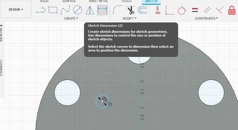Fusion 360 Tutorial-Circular Pattern-Rectangular Pattern 11
