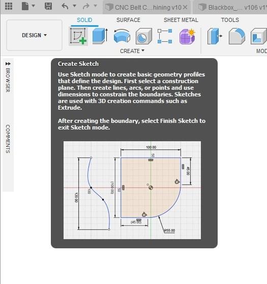Fusion 360 Tutorial-Circular Pattern-Rectangular Pattern 1