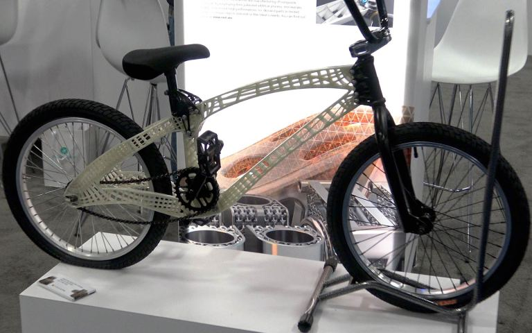 Autodesk / Moi Composites 3d Printed Bicycle