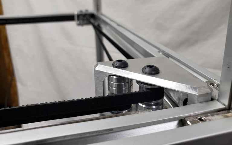 CoreXY Belt Path -Crossing Belts