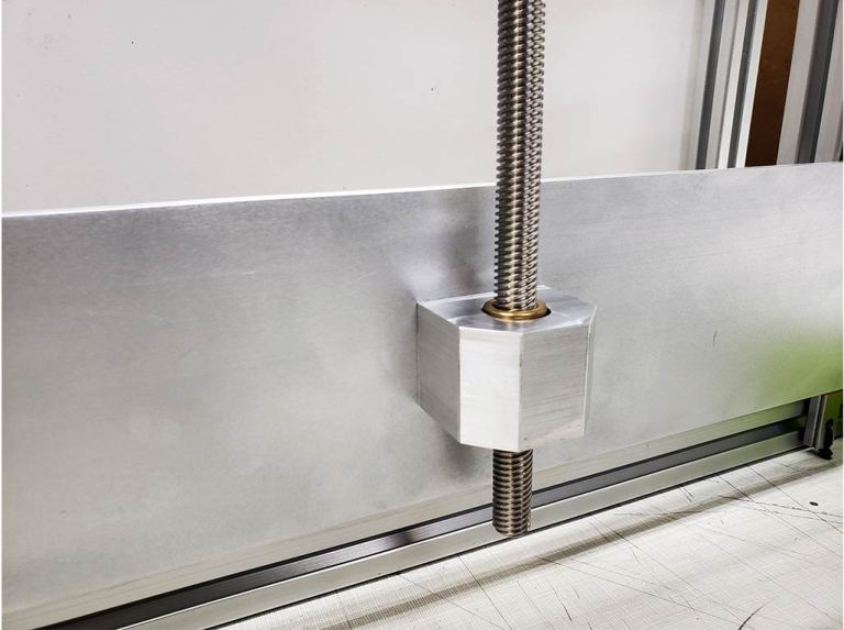 WorkHorse 3D Printer V2 Gantry Plate Z axis lead screw
