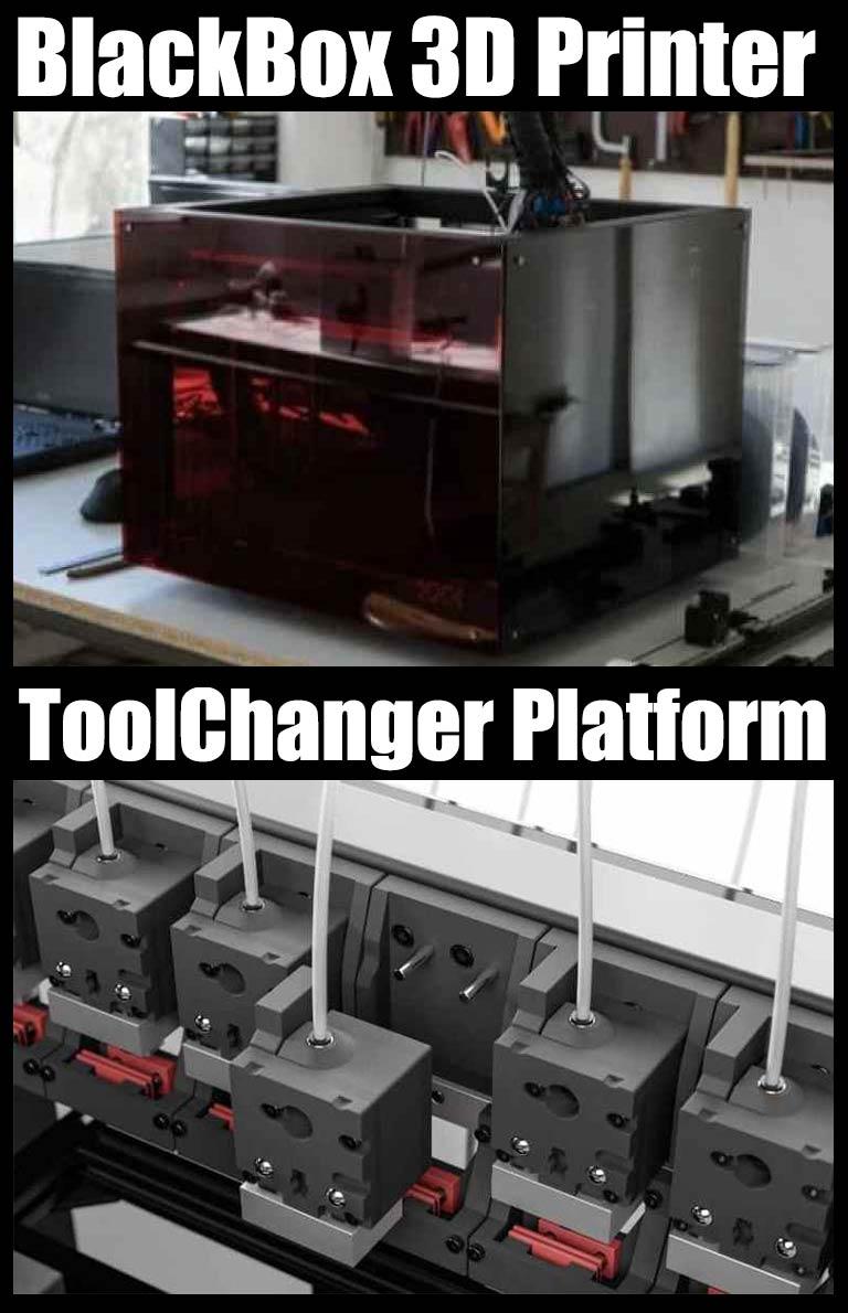 Blackbox 3d printer- Toolchanger Platform
