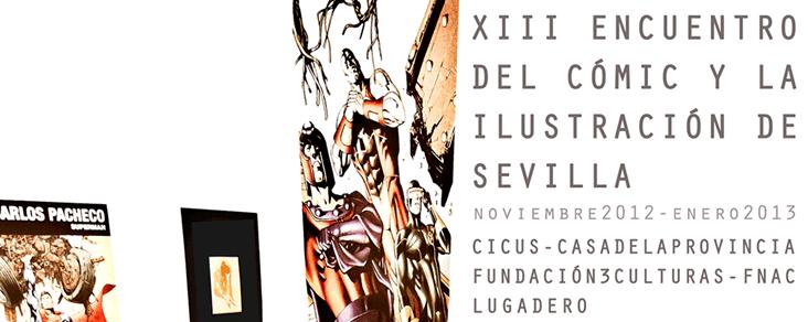 XIII edición del Encuentro del Cómic y la Ilustración de Sevilla