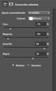 Tonos color escala de grises 11