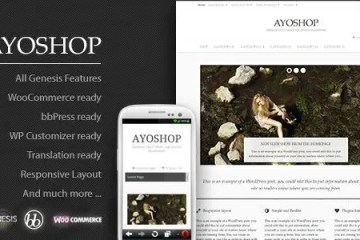 Ayoshop tema wordpress