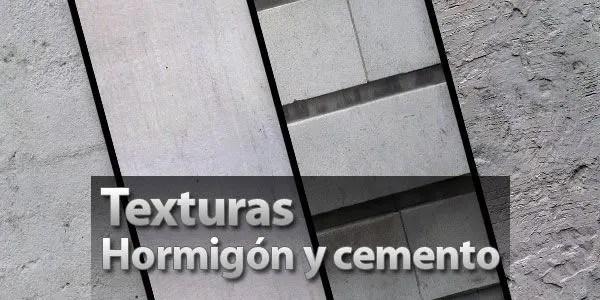 Texturas hormigon cemento