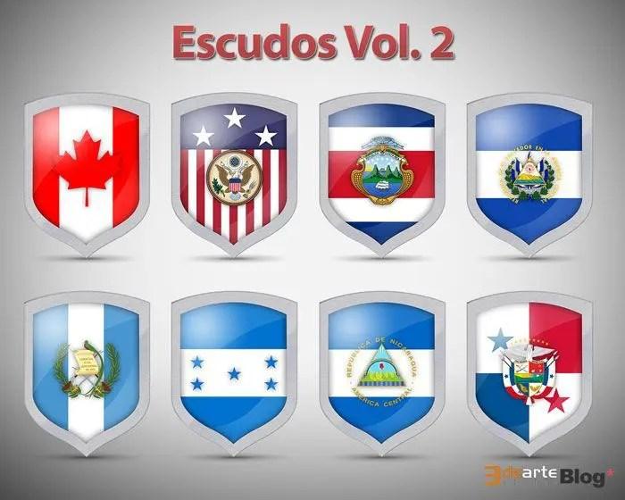 Iconos escudos banderas v2
