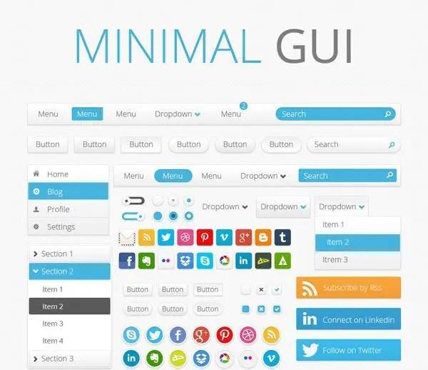 Minimal GUI