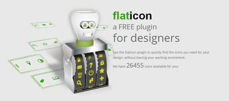 Iconos gratis con Flaticon
