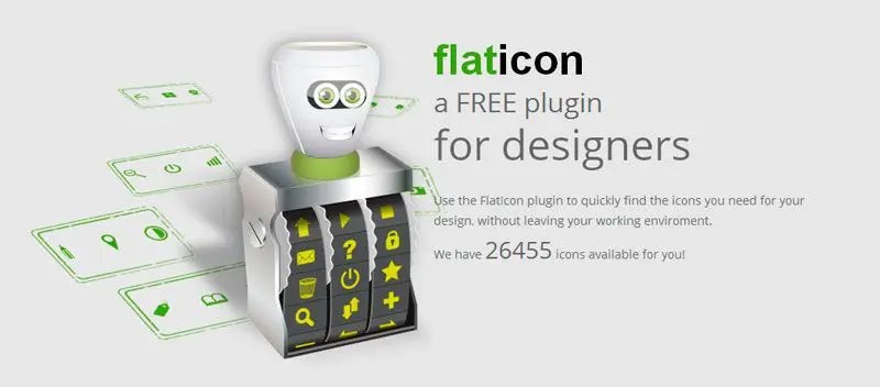 Flaticon plugin gratis