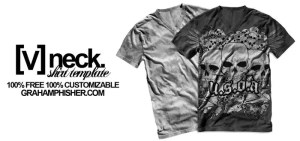 V_Neck_Shirt_Template_by_GrahamPhisherDotCom