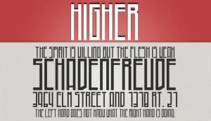 Higher fuente gratis