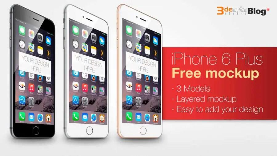 iPhone 6 Plus mockup